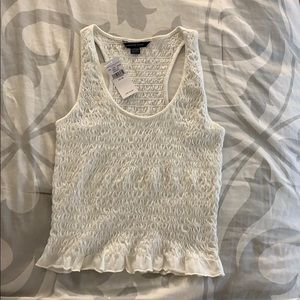 American eagle white tank top!